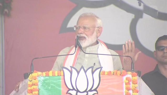Opposition parties will fall flat in this Lok Sabha polls: Modi in Kushinagar