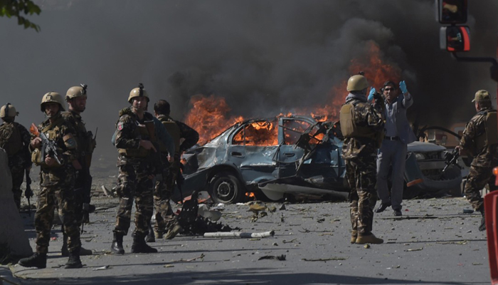 A suicide car bomb explosion takes 7 lives in eastern parts of Kabul