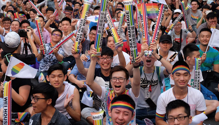 Taiwan becomes first Asian nation to legalize same-sex marriage