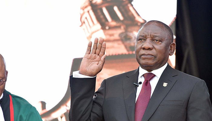 South African Prez announces trimmed-down Cabinet that is 50% women