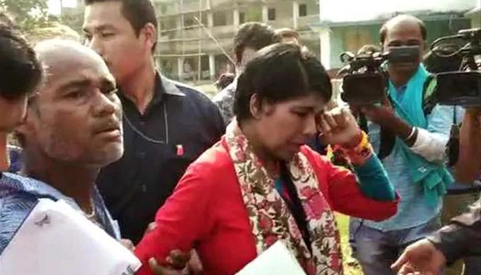 BJP candidate attacked twice in West Bengal, CEO seeks report