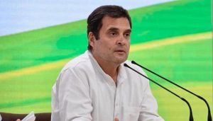 Don't be disheartened by fake exit polls, Rahul tells party workers