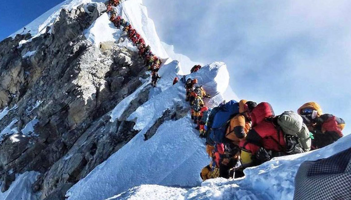 Chinas survey team summits Mt Everest to measure its height