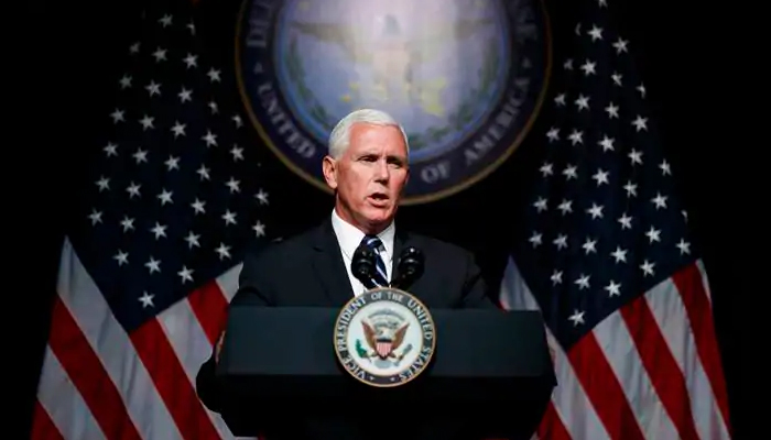 First woman to land on moon will be American: Mike Pence