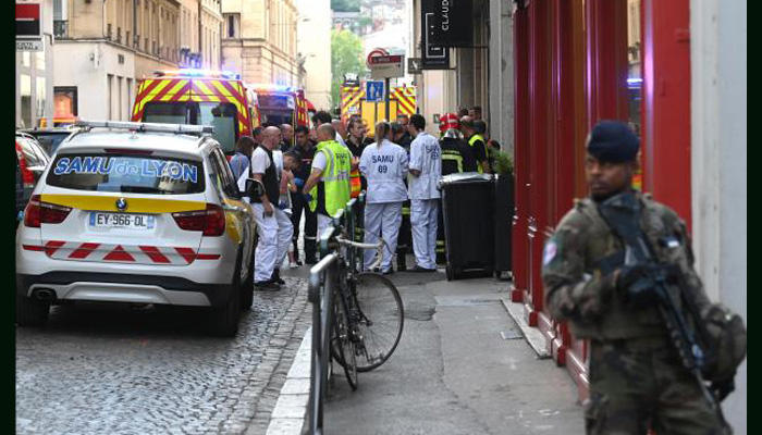 More than a dozen wounded in France bomb attack