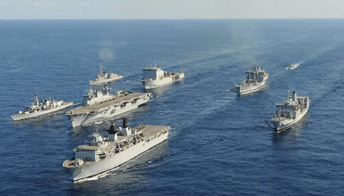 Indian Navy provides assistance to stranded Cargo Ship in Gulf of Oman