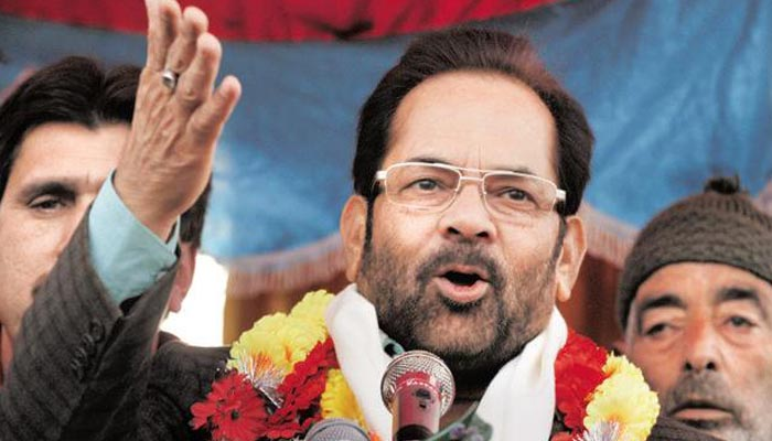Unable to digest defeat of dynasty, oppn wants to discredit democracy: Naqvi