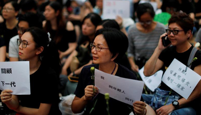 Hong Kong government suspends divisive extradition bill