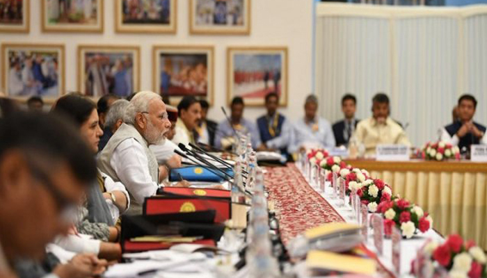 Niti Aayogs fifth Governing Council meet begins under Modis Chairmanship