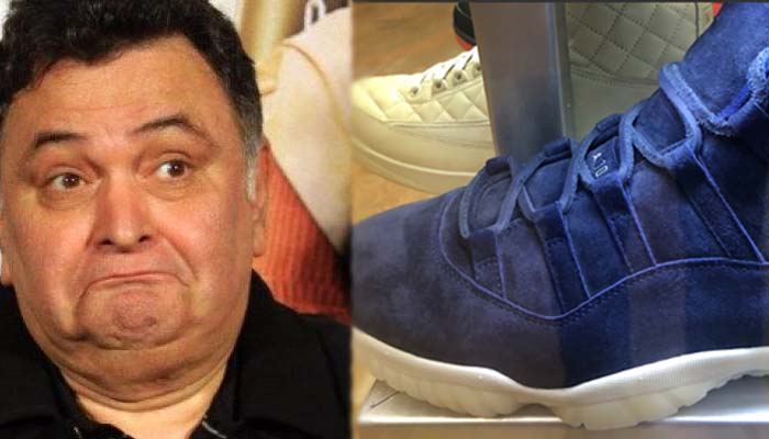 Know the price of the sneaker that left Rishi Kapoor awestruck | Read