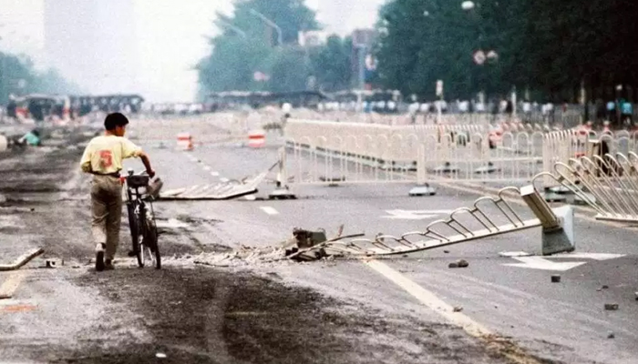 China in war of words with US over Tiananmen Square massacre