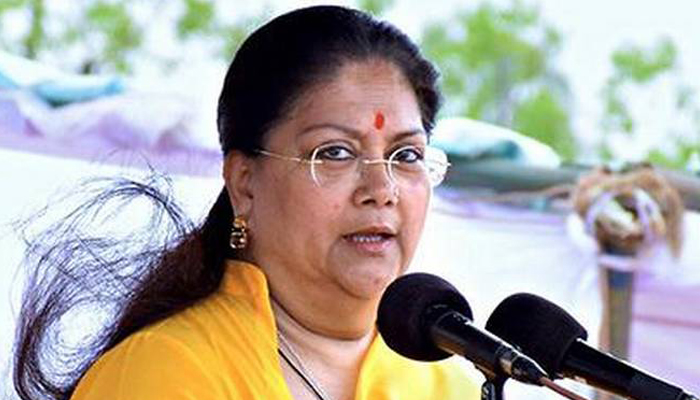 Vasundhara Raje to visit temples in UP and Rajasthan on her birthday