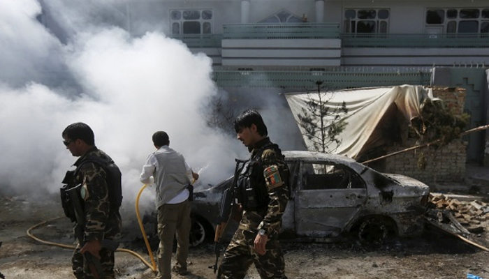 Suicide bomber kills 11, 13 wounded in eastern Afghanistan