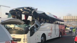 Riyadh: 35 foreigners dead and four injured in Saudi bus crash