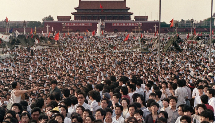 Silence, security in Beijing on 30th Tiananmen anniversary