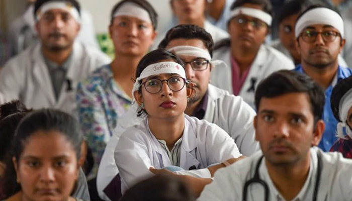 Doctors at many hospitals in Delhi protest on Saturday over WB violence