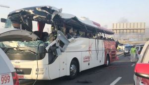 12 Indians among 17 killed in Dubai bus accident