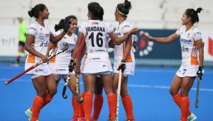 Ind women's hockey team secures place in Olympics qualifiers final round
