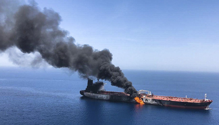 Iraq pushes US for calm after Gulf tanker attacks