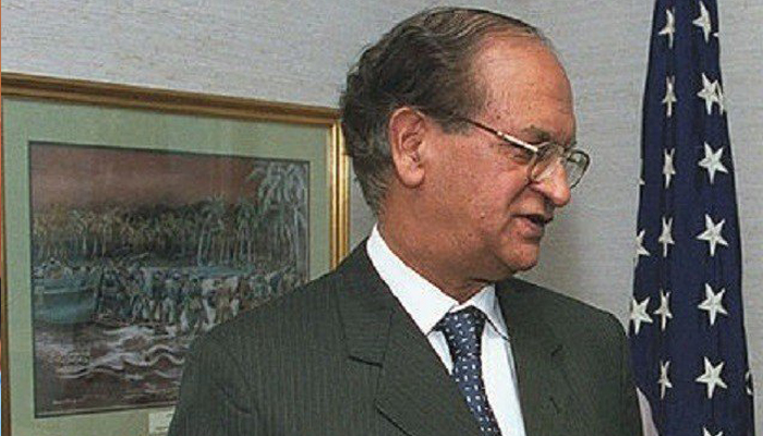 Pakistans ex-foreign minister Abdul Sattar no more: Foreign Office