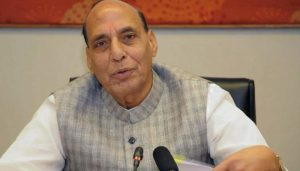 Rajnath Singh payed respect, appreciating scientists for their hardwork