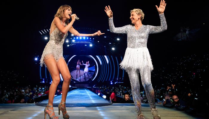 Ryan, Ellen to feature in Taylor Swifts You need to calm down music video