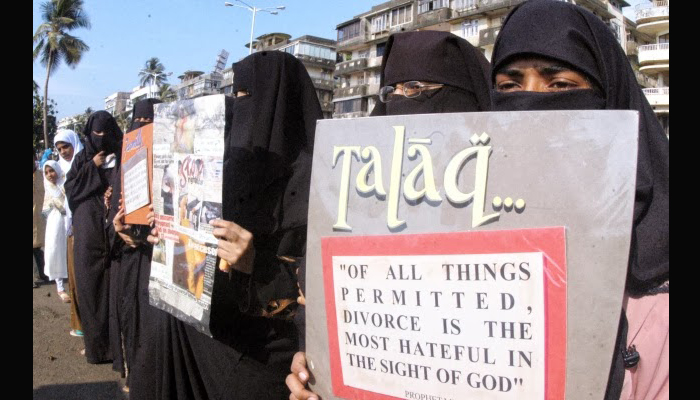 Fresh triple talaq bill introduced in LS, opposition members protest