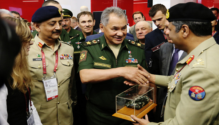 Russia flaunts its military strength at Army 2019 Defense Exhibition