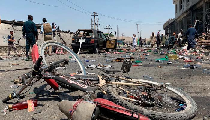 Afghan capital hit by three bombings, at least 10 killed
