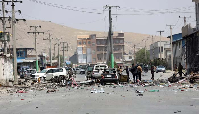 Afghan official: Taliban suicide blast hits police, kills three