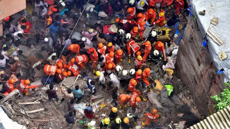 Mumbai building collapse: Death toll climbs up to 14