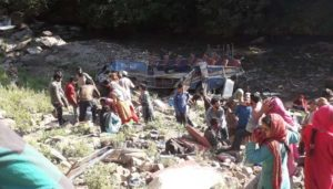 #KishtwarAccident: Death toll rises to 35 as overloaded bus falls into gorge