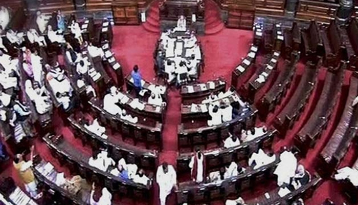 Rajya Sabha adjourned till noon amid uproar by Cong, SP members