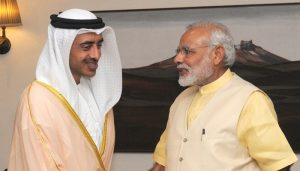 UAE Foreign Minister to start 3-day visit to India on Sunday