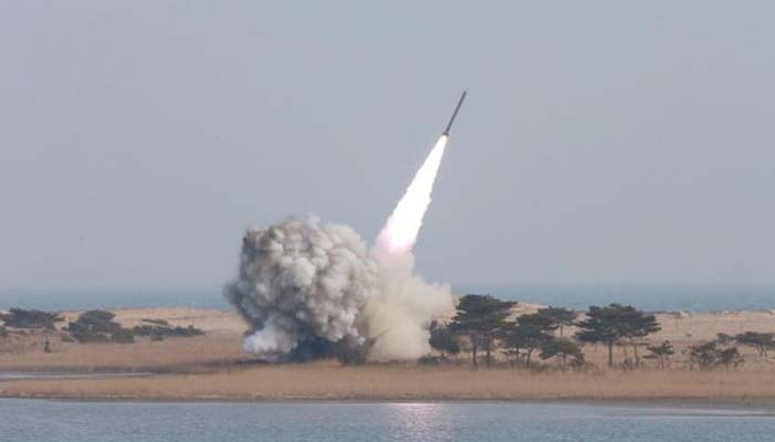 South Korea says North Korea has fired 2 more projectiles into sea