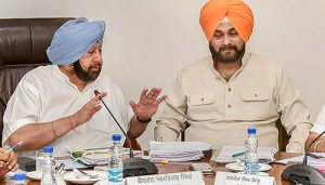 Can't help if Sidhu doesn't want to do his job: Amarinder Singh