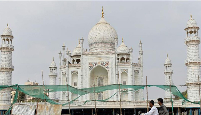 Repair work on Taj Mahal minaret to be completed by Sep 15: Officials
