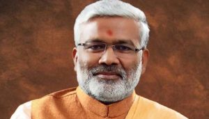 Swantantra Dev Singh accorded grand welcome by BJP workers in UP