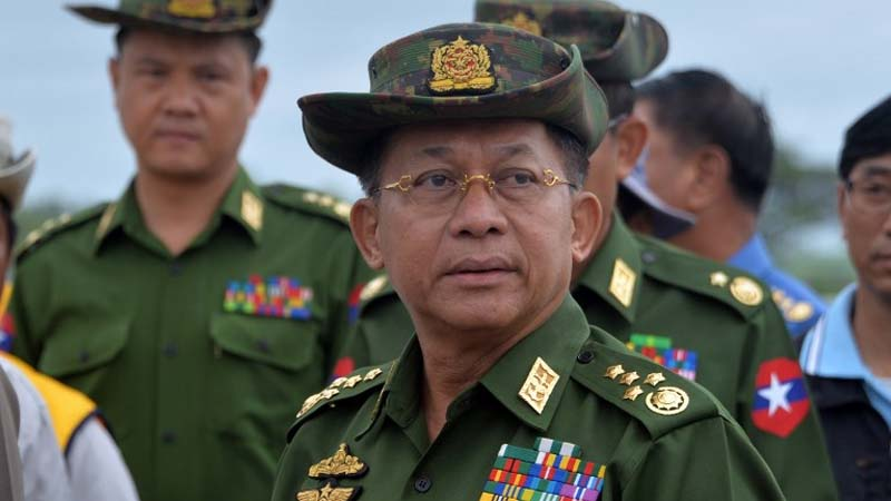 US bans Myanmar army chief over Rohingya ethnic cleansing