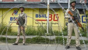 Mobile Internet services again snapped in Jammu region
