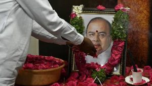 Former finance minister Arun Jaitely cremated with State honours