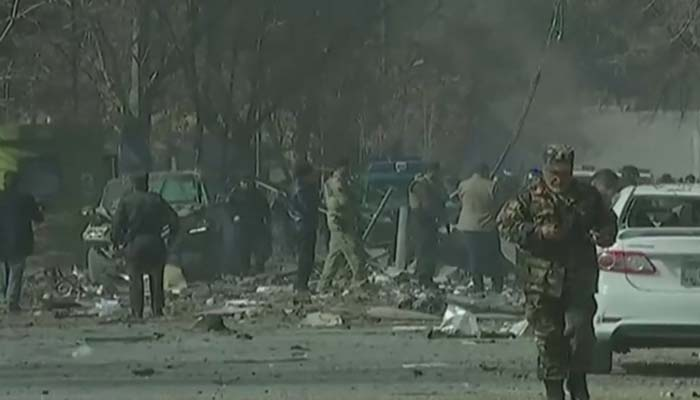 Kabul blast toll reaches at least 14 killed, 145 wounded: official