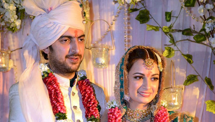 Actor Dia Mirza, husband Sahil Sangha announce separation after 11 years