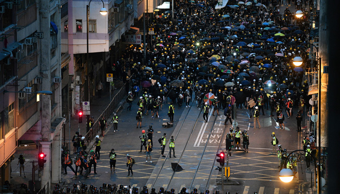 Hong Kong unrest spreads as leader warns city of very dangerous situation
