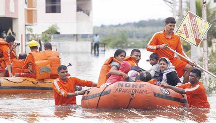 MHA: 83 NDRF teams dispatched for flood relief, rescue in 4 states
