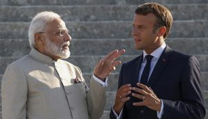 PM Narendra Modi holds talks with French counterpart Philippe