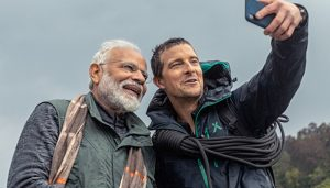 Technology helped Grylls understand Hindi in 'Man Vs Wild', says PM