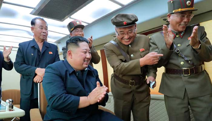 N Koreas Kim supervised new weapon test again: Report