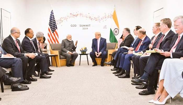 Prez Trump to discuss Kashmir with PM Modi at G7 summit in France