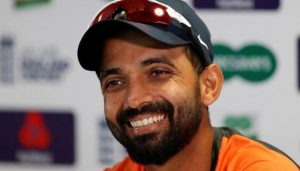 I am not a selfish guy so I thought about team rather than hundred: Rahane